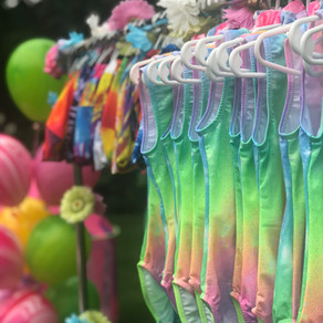 Gymnastics Tie Dye Style