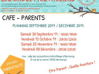Les Café Parents - fin 2017