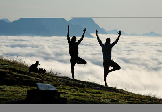 Yoga Wanderung