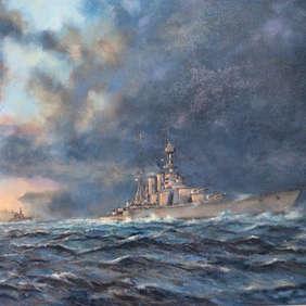 """Battle Cruiser Empire Guardian"" Nick Martin"