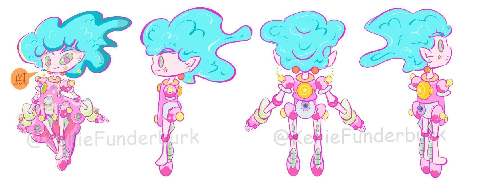Pixie Bot Character Sheet