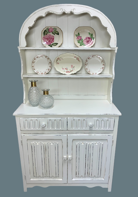 Late 1800's Welsh Kitchen Cupboard