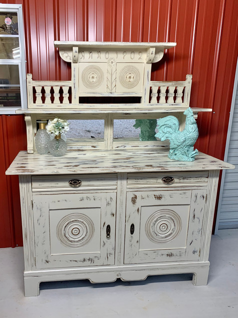European Cathedral Sideboard