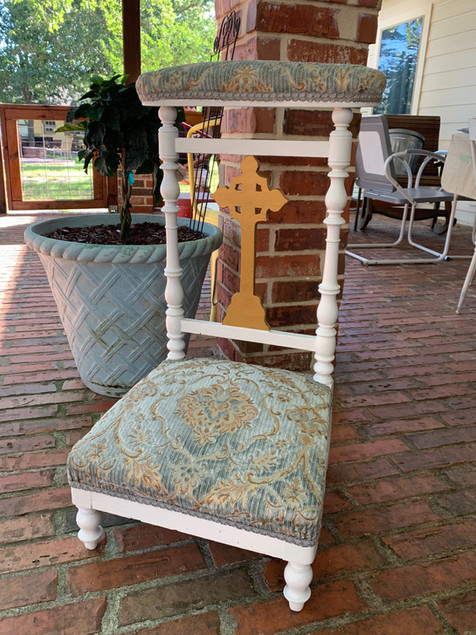 Early 1900's Prayer Chair
