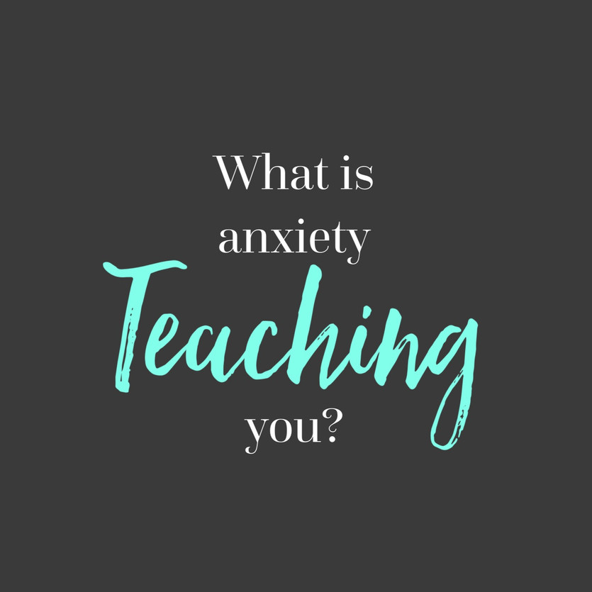 What anxiety has taught me about myself