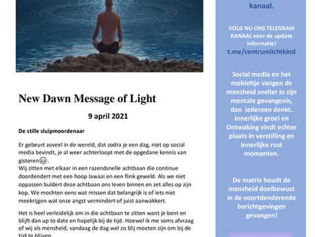 Lichtkind Nieuwsflits 9 april