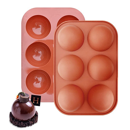 Baking Silicone Sphere  Mold