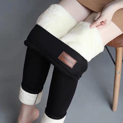 Women's lamb wool leggings