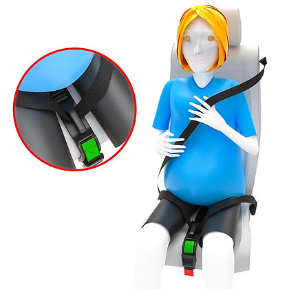 Maternity Seat Belt Adjuster For Comfort, Safety & Protects Mom's Unborn Baby