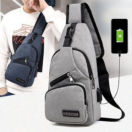 Water Resistant Multifunction Crossbody Bag