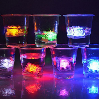12pcs Glowing LED Ice Cubes