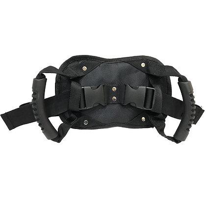 Motorcycle Rear Seat Passenger Grip Grab Handle Safety Belt