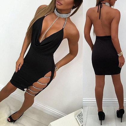 Sexy Sling Bag Hip Dress