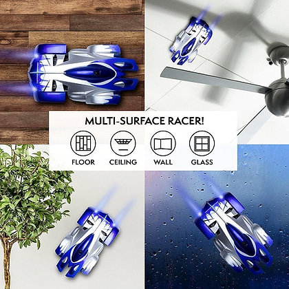 RC Wall Climbing Car Remote Control Anti Gravity Ceiling Racing