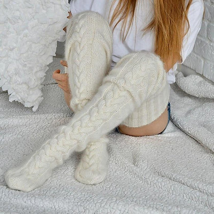 Knitted Over The Knee Stockings
