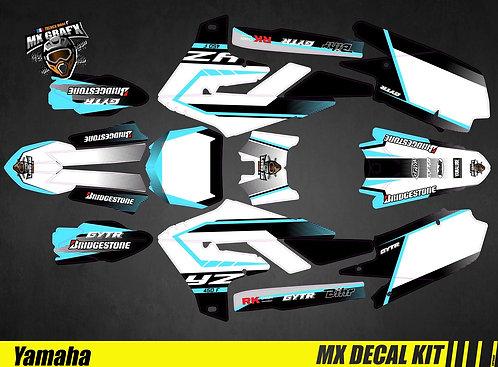 Kit Déco Moto pour / Mx Decal Kit for Yamaha - Blue_Spirit