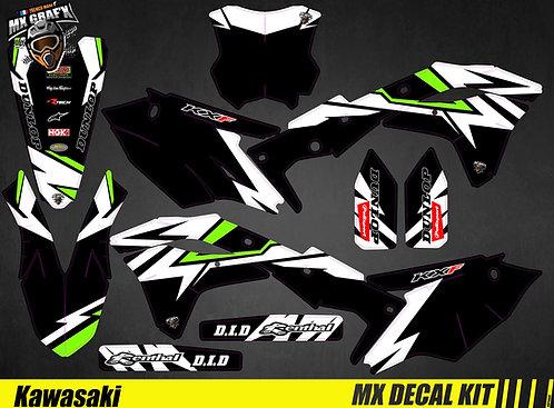 Kit Déco Moto pour / Mx Decal Kit for Kawasaki - Blitz
