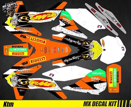 Kit Déco Moto pour / Mx Decal Kit for KTM - FMF