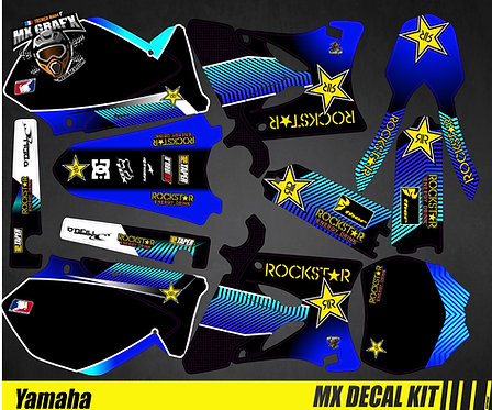 Kit Déco Moto pour / Mx Decal Kit for Yamaha - Rockstar