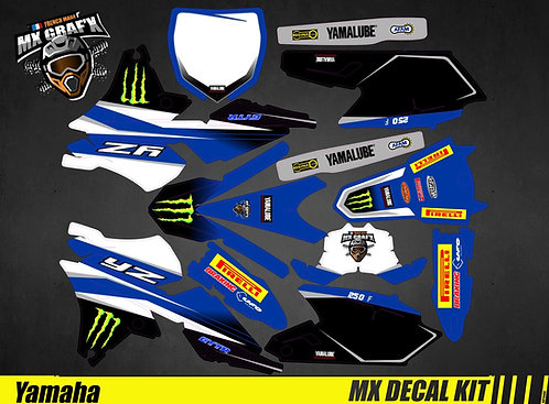 Kit Déco Moto pour / Mx Decal Kit for Yamaha - Replica_Febvre_2017