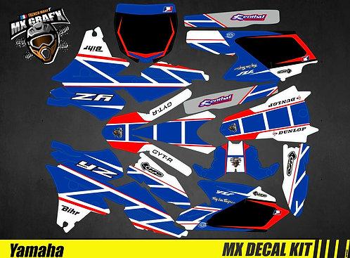 Kit Déco Moto pour / Mx Decal Kit for Yamaha - Replica_Dumontier