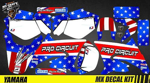 Kit Déco Moto pour / Mx Decal Kit for Yamaha DT 50 - Pro_Circuit