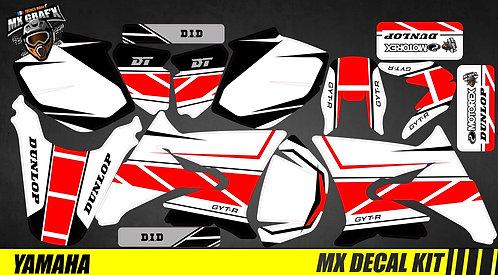 Kit Déco Moto pour / Mx Decal Kit for Yamaha DT 50 - Replica_2016