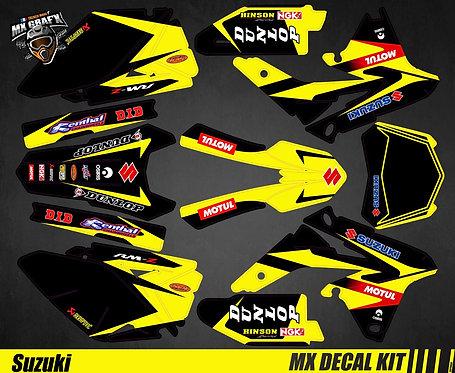 Kit Déco Moto pour / Mx Decal Kit for Suzuki - Storm