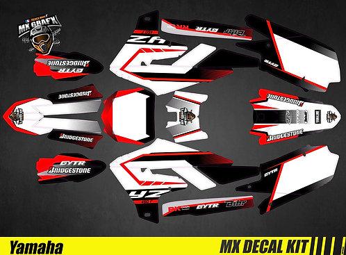 Kit Déco Moto pour / Mx Decal Kit for Yamaha - Red_Spirit