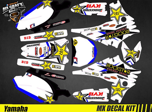 Kit Déco Moto pour / Mx Decal Kit for Yamaha - Rockstar
