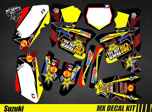 Kit Déco Moto pour / Mx Decal Kit for Suzuki - Protaper