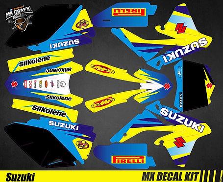 Kit Déco Moto pour / Mx Decal Kit for Suzuki - Blue_2