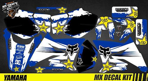 Kit Déco Moto pour / Mx Decal Kit for Yamaha DT 50 - Blue_Fox