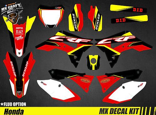 Kit Déco Moto pour / Mx Decal Kit for Honda CR/CRF - Storm