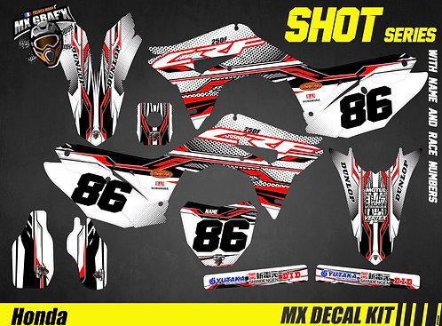 Kit Déco Moto pour / Mx Decal Kit for Honda CR/CRF - Shot_Series
