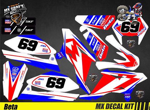 Kit Déco Moto pour / Mx Decal Kit for Beta - Race