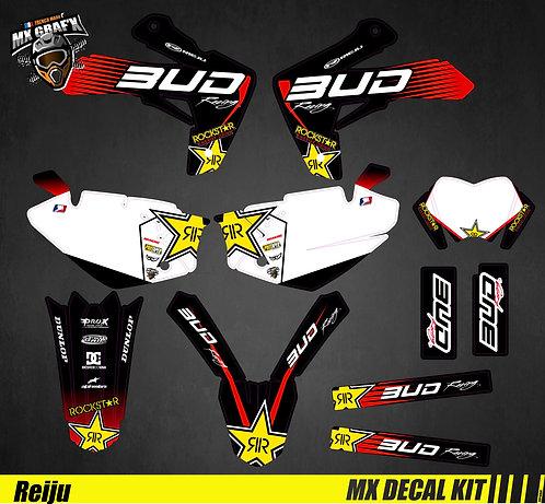 Kit Déco Moto pour / Mx Decal Kit for Rieju - Bud R
