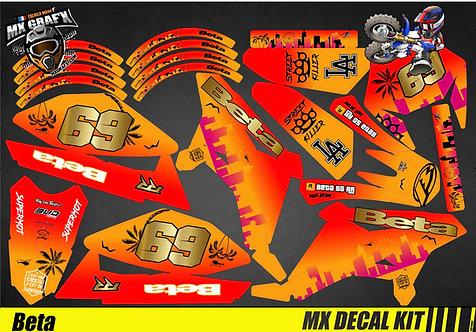 Kit Déco Moto pour / Mx Decal Kit for Beta - GTA