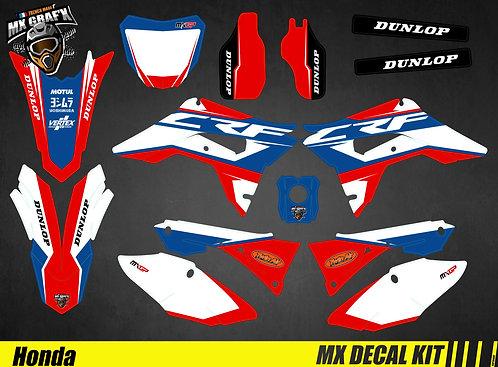 Kit Déco Moto pour / Mx Decal Kit for Honda CR/CRF - Blue_Storm