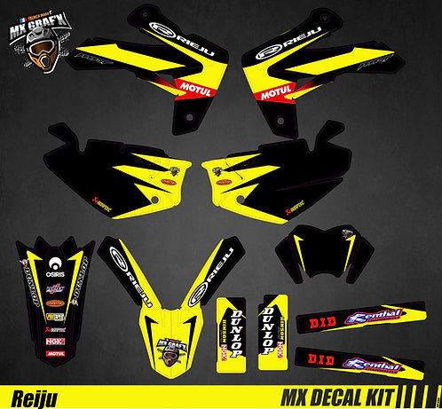 Kit Déco Moto pour / Mx Decal Kit for Rieju - Storm