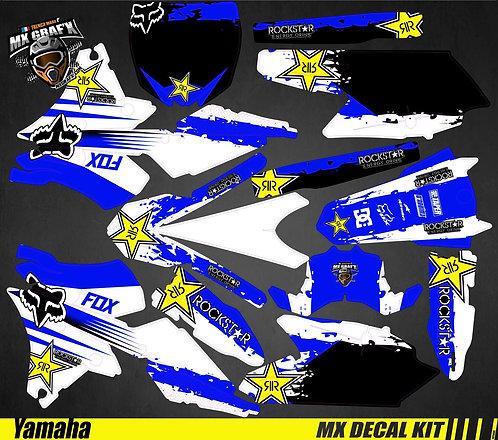 Kit Déco Moto pour / Mx Decal Kit for Yamaha - Blue_Fox