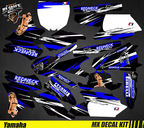 Kit Déco Moto pour / Mx Decal Kit for Yamaha - Sexy