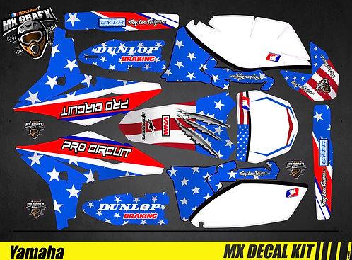 Kit Déco Moto pour / Mx Decal Kit for Yamaha - ProCircuit