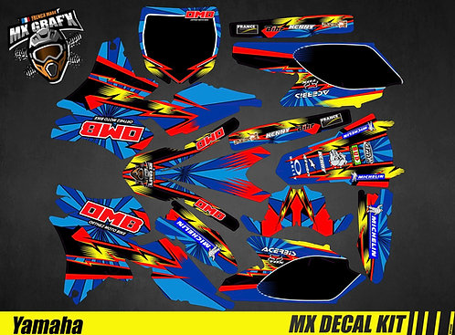 Kit Déco Moto pour / Mx Decal Kit for Yamaha - OMB