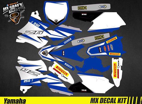 Kit Déco Moto pour / Mx Decal Kit for Yamaha - Replica_Febvre_2016