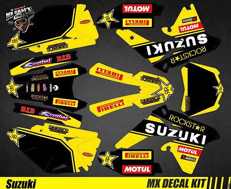 Kit Déco Moto pour / Mx Decal Kit for Suzuki - Rockstar