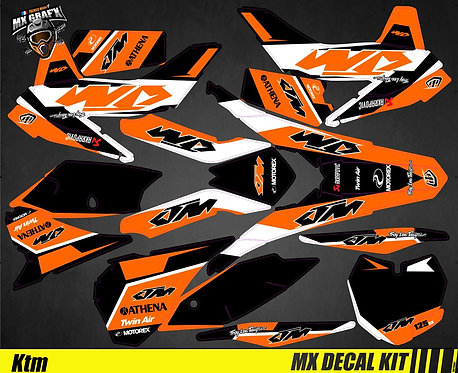 Kit Déco Moto pour / Mx Decal Kit for KTM - Arrow