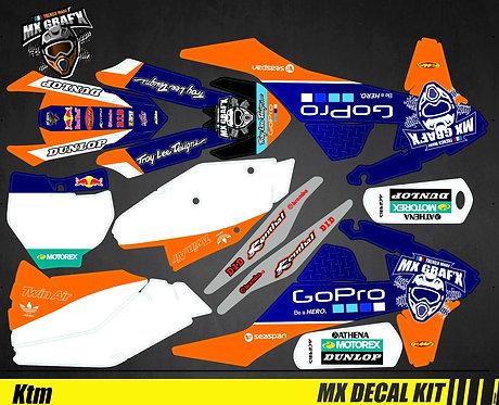 Kit Déco Moto pour / Mx Decal Kit for KTM - GoPro_Edition_Mx