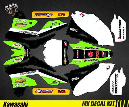 Kit Déco Moto pour / Mx Decal Kit for Kawasaki - Chevy_Trucks