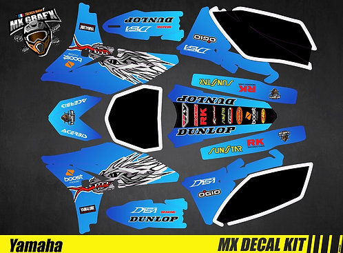 Kit Déco Moto pour / Mx Decal Kit for Yamaha - TroyLee
